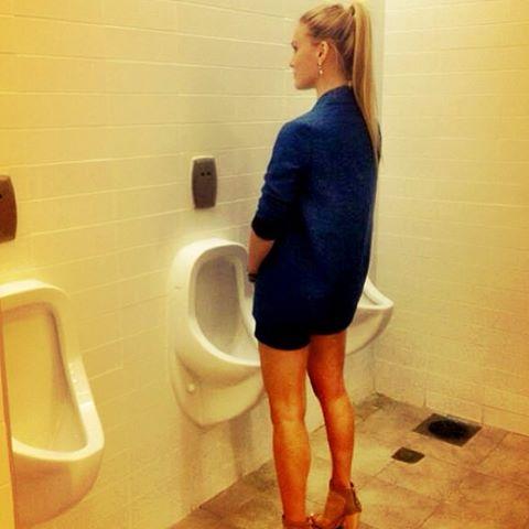 For Donald Trump: Love, bathroom style