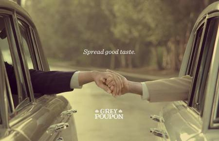 Grey Poupon: June is National Pride month. Though the festivities technically only last a month, we recommend celebrating all year – because Pride and good taste never go out of season. (From Grey Poupon's Facebook page)