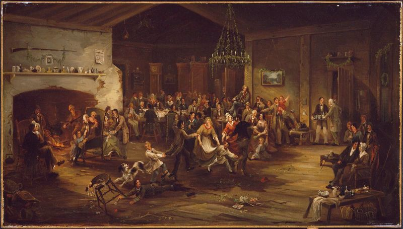 The Christmas Party, about 1850, by Robert David Wilkie. (Photo: Wikimedia Commons)