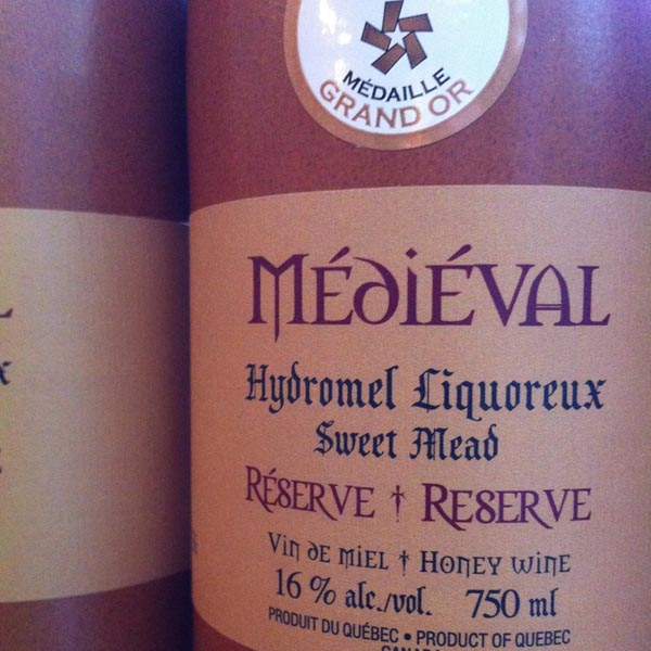 Intermiel Medieval Mead – 750 mL bottle. (Photo: Where.ca)