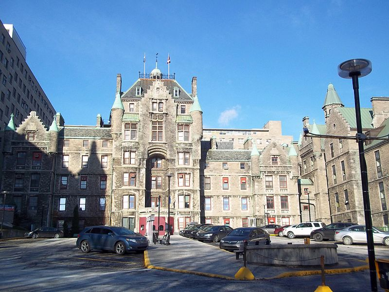 The Royal Victoria Hospital in Montreal. (Photo: Wikimedia Commons)