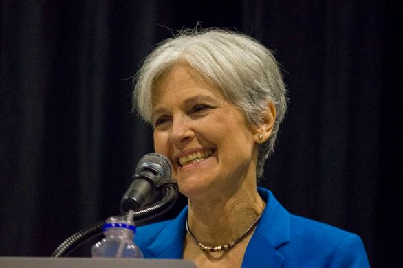 Jill Stein, Green Party candidate for U.S. president, at a campaign stop at Metro Community College in Omaha, Neb., on Sept. 7, 2016. (Matt A.J./Wikimedia Commons)